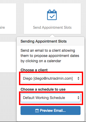 how to send confirmation email to client