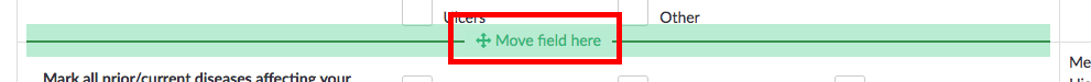 move field here