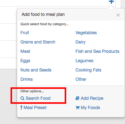 search food